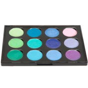 Cosmic Shimmer Iridescent Watercolour Paint Palette - Greens & Purples