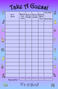 Bundle Boards It's A Boy Baby Shower Guessing Game and Keepsake, Small