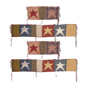Patch Magic Bumper Cover, Homespun Stars