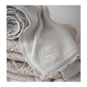 ÄLskad Baby Blanket, Grey
