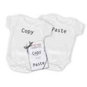 Copy and Paste Onesie Set for Twins