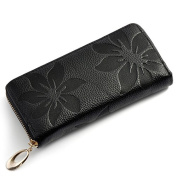 BLACK FRIDAY DEAL CYBER MONDAY SALE 2015 easygogo®Flower Print Faux Leather Purse Best Friends Gifts for Women Christmas Gifts Ideas