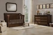 Franklin & Ben Mayfair Nursery Furniture Bundle, Rustic Brown