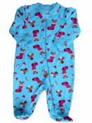 Faded Glory Infant Girls Mouse In A Stocking Sleeper Sleep & Play 0-3 Months