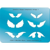 Cool Tools - Jewellery Shape Template - Wings 1