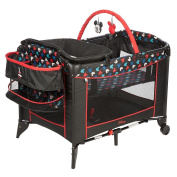 Disney Baby Mickey Mouse Silhouette Play Yard Pack N' Play Crib Bassinett