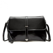 MOLLYGAN Womens Leather Clutchs,Cross-body Shoulder Bag, Simple Style, Dual-Use