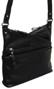 Osgoode Marley Leather Kriss Kross Traveller - Black