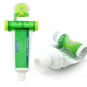 Plastic Rolling Toothpaste Squeezer Dispenser Tube Partner Holder Sucker Hanging
