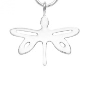 MB Michele Benjamin LLC Jewellery Design Women's Sterling Silver Dragonfly Necklace 46cm