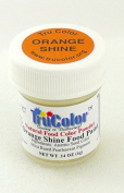TruColor Shine Light Reflective Airbrush Natural Food Colour (Sm. Jar) Orange Shine