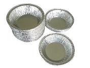 Wilkinson A90 8.6cm (50 Pans) Aluminium Foil Tart Pan Disposable Baking Mini-pie Plate Tin