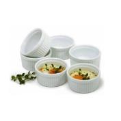 Norpro 258 Porcelain 90ml Ramekins, Set of 6 New
