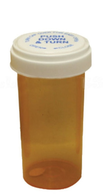 Pill Bottle Container - Various Sizes Available (Medium)