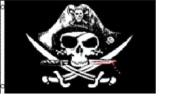 3x5 Deadmans Deadman Chest Tricorner Pirate Flag 0.9mx'5 Banner Grommets