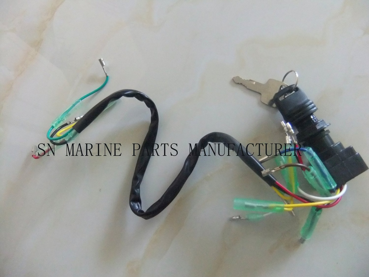 Remote Control Box Ignition Switch / Main Switch Assy 703-82510-43-00 for  Yamaha Outboard Motors 703-82510-42-00 Push to Choke 10P