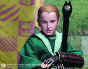 Harry Potter and the Chamber of Secrets Draco Malfoy Quidditch Version Collectible Action Figure