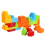Arshiner Building Block Bricks Puzzle Toys 50 PCS Set