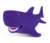 Puzzled Purple Shark Rubber Squirter Bath Buddy Bath Toy - Ocean \ Sea Life Collection - 7.6cm - Affordable High Quality Gift For Your Little One - Item #2781