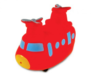 Puzzled Sea Knight Helicopter Rubber Squirter Bath Buddy Bath Toy - Helicopters \ Airforce Collection - 7.6cm - Affordable High Quality Gift For Your Little One - Item #2786