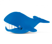 Puzzled Big Whale Rubber Squirter Bath Buddy Bath Toy - Ocean \ Sea Life Collection - 7.6cm - Affordable High Quality Gift For Your Little One - Item #2776