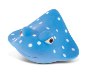 Puzzled Manta Ray Rubber Squirter Bath Buddy Bath Toy - Ocean \ Sea Life Collection - 7.6cm - Affordable High Quality Gift For Your Little One - Item #2774
