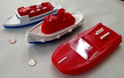 Fun in the Water Floating Plastic Boat Toys 3 boats included by Atlantis Toy and Hobby