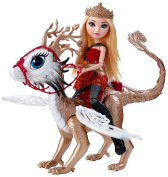 Ever After High Dragon Games Apple White Doll and Braebyrn Dragon