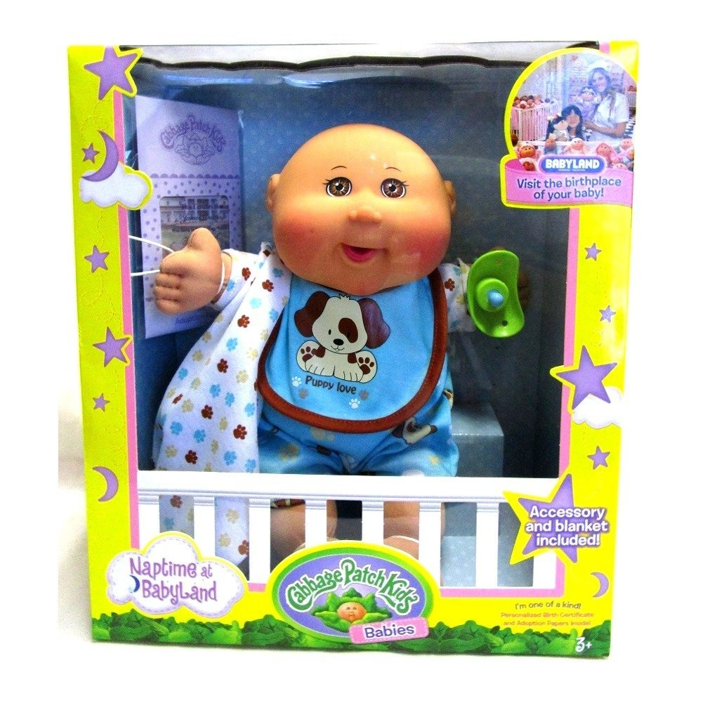 Special purchase vintage cabbage patch doll original box! Bald.