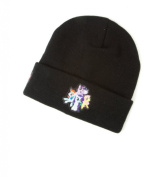 My Little Pony Girl Black Knit Beanie Hat
