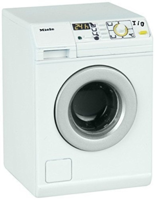 miniature toy miele washing machine with sound for. Black Bedroom Furniture Sets. Home Design Ideas