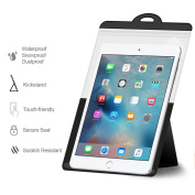 Waterproof Case Bag with Kickstand, JOTO Tablet Waterproof Dry Bag Stand Case for Apple iPad Air 2 / Air, Samsung ASUS Acer HP tablet up to 26cm diagonal