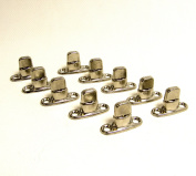 Common Sense Fastener, Turn Button, Double Height, 2 Hole Stud, 10 Piece Set - Shipped from The USA!