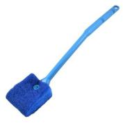 Aquarium Fish Tank Yale Blue Nonslip Handle Sponge Cleaning Brush Cleaner
