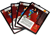Dragon Ball Z Trading Card Game 2015 Evolution Starter Set Set of 4 Android 17 Personality Fixed Single Cards