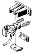 Kadee 1791 G Scale Coupler Conversion Kit