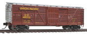 HO Scale 12m Stock Car w/Dreadnaught Ends - Ready to Run -- Union Pacific(R) #48197