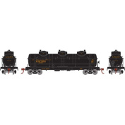 Athearn - HO RTR 3-Dome Tank, East Jersey RR #3604