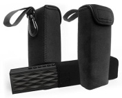 FitSand(TM) Carrying Sleeve Portable Travel Soft Bag Case for DKnight Magicbox Wireless Bluetooth Speaker