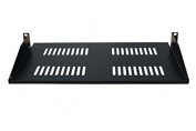 "Cantilever Server Shelf Vented Shelves Rack Mount 19"" 1U 8""(200mm) Deep"