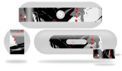 Abstract 02 Red Decal Style Skin - fits Beats Pill Plus