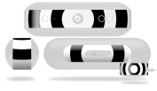 Bullseye Black and White Decal Style Skin - fits Beats Pill Plus