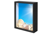 Swing Design Chorma Picture Frame and Shadow Box, 20cm x 25cm , Black