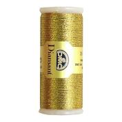 DMC Diamant Metallic Needlework Thread, 38.2-Yard, Dark Gold
