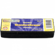 Creativity Street Felt Eraser, 15cm by 5.1cm by 3.2cm , Black