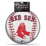 Boston Red Sox Official MLB 36cm x 36cm Die Cut Pennant by Rico Industries