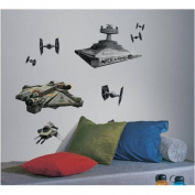 Star Wars Rebel and Imperial Ships Peel and Stick Giant Wall Decals