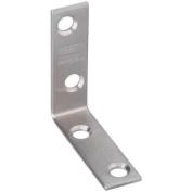 National Mfg. N348-318 Stainless Steel Corner Brace-2X5/8 SS CORNER BRACE