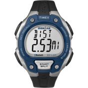 Timex Men's Ironman Classic 50 Move+ Blue/Silver-Tone/Black Watch