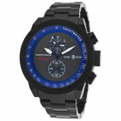 Glam Rock Men's Air Race Racetrack Chrono Black Aluminium Black Dial